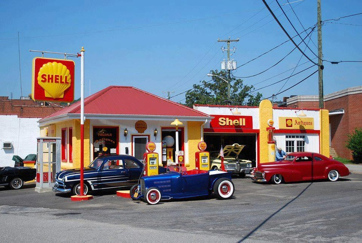Ol Times - Shell Oil