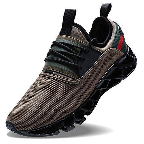 best sneakers 81d64 18305 Wonesion Men Trainers Casual Lightweight Running Sneakers ...