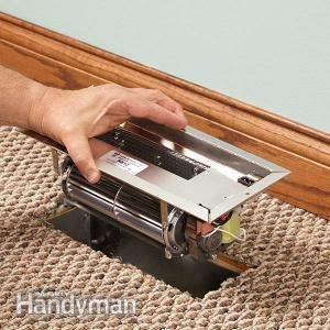 How to Install a Duct Booster Fan. Fine tune your heating and cooling system: http://www.familyhandyman.com/heating-cooling/how-to-install-a-duct-booster-fan/view-all