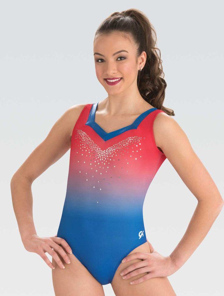7651 | Competition leotard, Leotards, Gymnastics