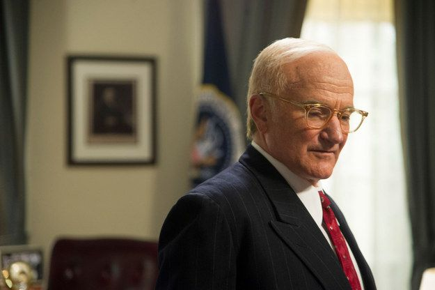 Lee Daniels' The Butler (2013) — Dwight D. Eisenhower | 29 Great Performances By Robin Williams