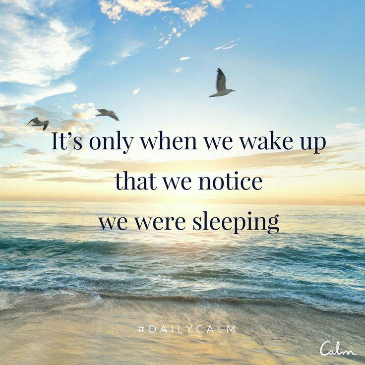우리는 의식이 깨어있을 때만 에고 상태에 있었던 것을 안다.