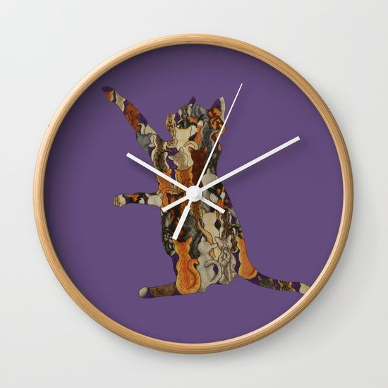Load of Kitty's Wall Clock by I Love the Quirky