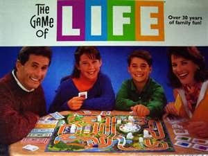 life board game - another family favorite circa 1980s