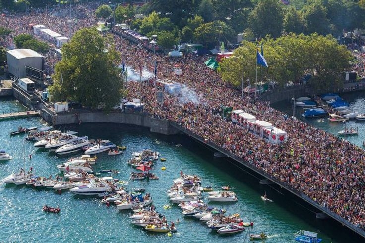 Street Parade Zurich: Inspired by Berlin's Love Parade, Zurich has created a day-long moveable feast for those hungry for music, dancing and good vibes.
