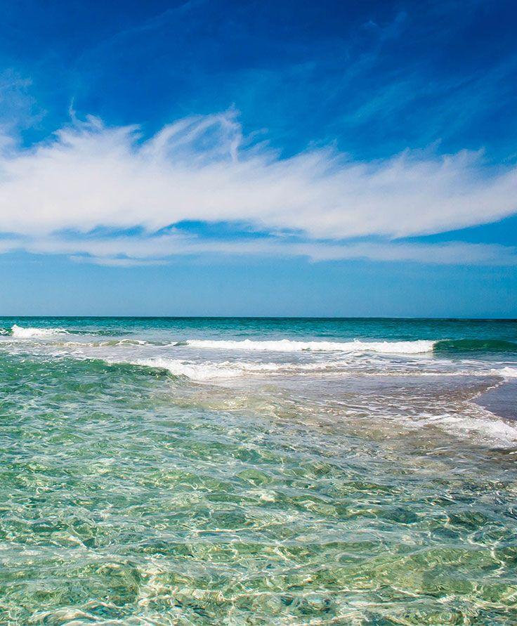 Summer beaches at Charlotte Harbor Florida.  Gasparilla Pass between Gasparilla and Little Gasparilla Island.    www.charlotteharbortravel.com