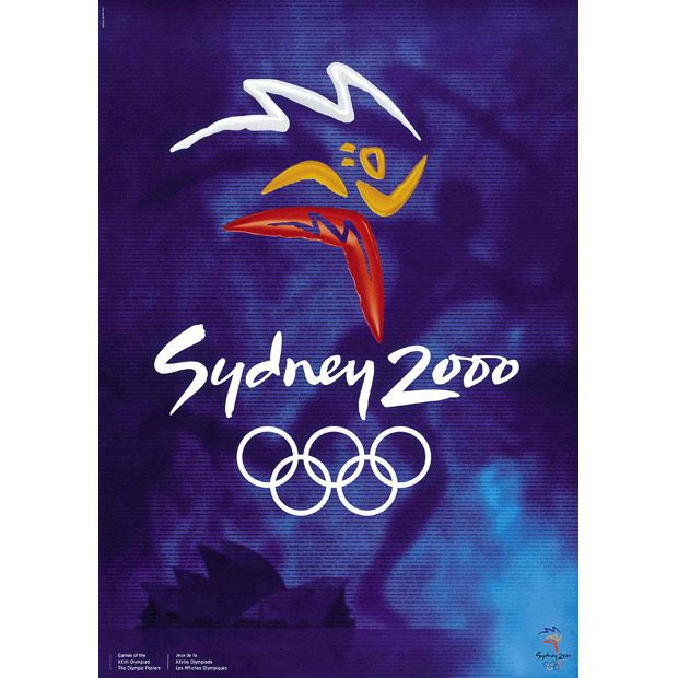 2000, Sydney, Australia Olympic Poster