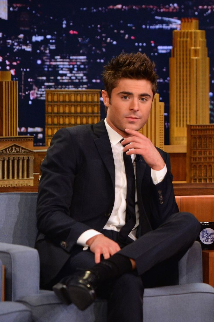 In his most recent movie, <em>Neighbors</em>, Zac Efron plays an often shirtless frat boy. In real life, he plays (nay, <em>is</em>) an often-shirtless actor. Always, he looks so perfect