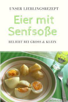 Eier mit Senfsoße nach DDR-Rezept