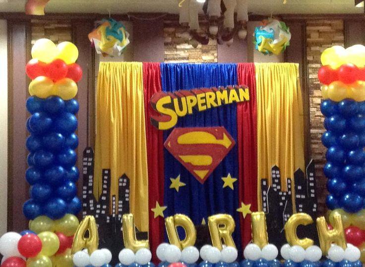 superman stage decor More Más
