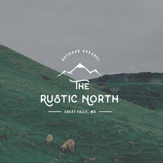 Rugged Logo Design. Outdoors Logo. Mountain Logo. Survival Logo. Mens Logo. Adventure Logo by Jay Darcy for Rogue Logo.