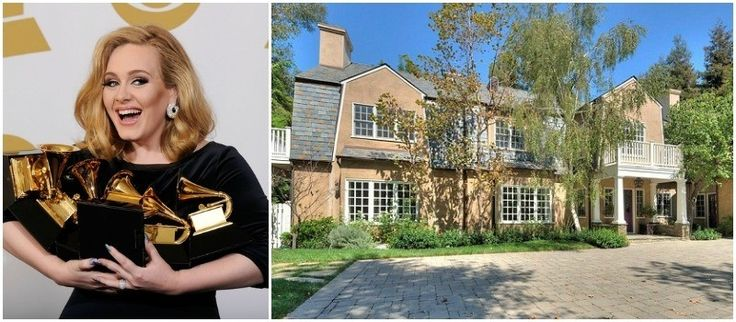 Adele's New Californian Mansion