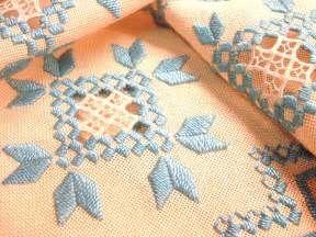 Hardanger Embroidery   vintagelinens   Flickr