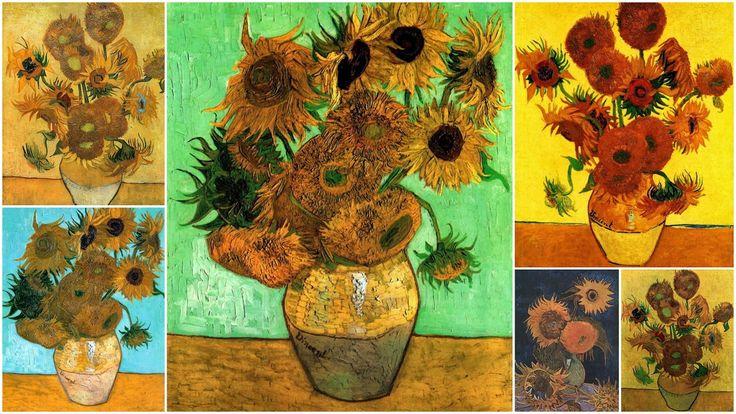 Учу дома: Картинная галерея. Творчество Винсента Ван Гога. Занятие и материалы.