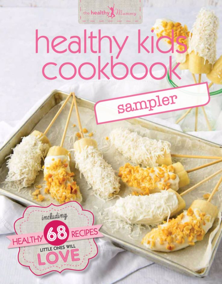 As well as helping mums lead healthy lifestyles with our amazing range of smoothies and our incredible  28 Day Challenge, we are also very much focused on helping kids eat healthy too!  This is why we launched our Healthy Kids Cookbook it comes in a hard copy and an ebook and it's JAM-PACKED full of healthy recipes that even the fussiest eaters will LOVE!