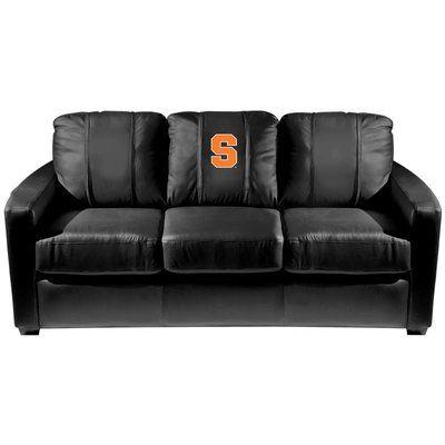 Dreamseat Silver Sofa NCAA Team: Syracuse Orangemen