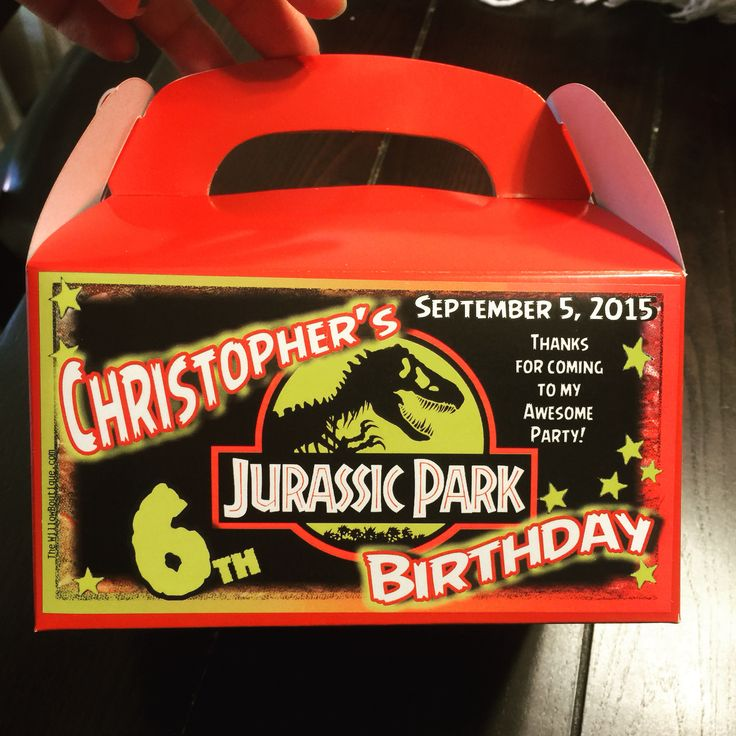 Très 96 best Mike's Birthday images on Pinterest | Dinosaurs, Jurassic  DB34