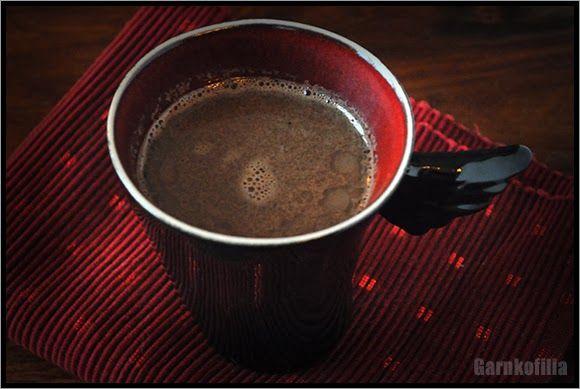 Garnkofilia: MOCHA - deser, kawa i czekolada w jednym, bezmleczna