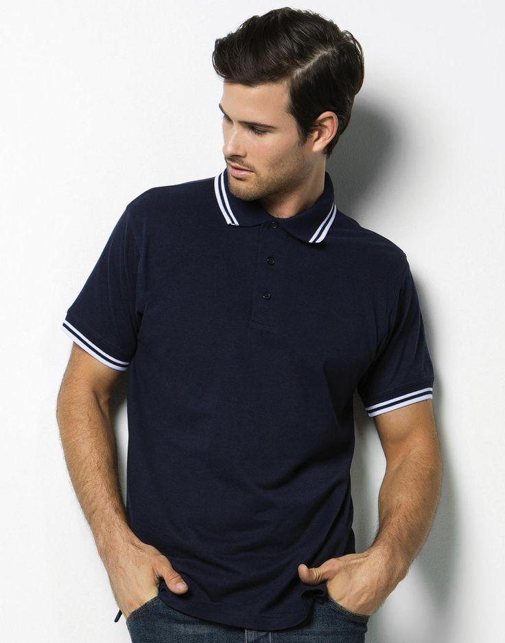 Kustom Kit Tipped Collar Polo Shirt günstig online kaufen Mode für Herren bei MPS MarkenPreisSturz.de Wir bedrucken und besticken auf Wunsch günstig Ihre Bekleidung.  #poloshirts #summerstyle #fashion