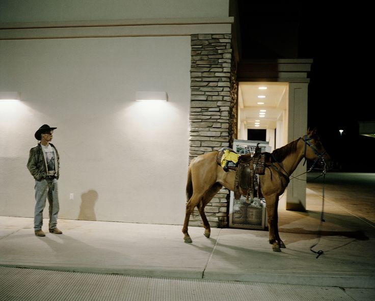 André Lützen `Rodeo II´ from the series ; `Before Elvis there was nothing´