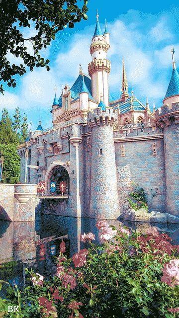 Анимация картинки с замком