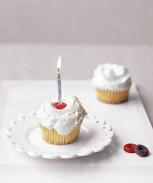 Use a LifeSaver as a birthday candle holder. (Candies in the original