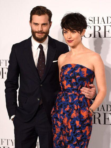 """Keinen Bock mehr auf """"50 Shades of Grey""""? Jamie Dornan schmeißt angeblich seine Rolle als """"Christian Grey"""" hin. Ehefrau Amelia Warner soll daran nicht ganz unschuldig sein."""