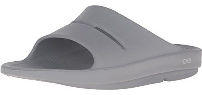 OOfos Men's OOahh - Slide Orthopedic Sandal
