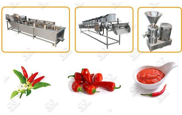 Chili Sauce Making Machine Line Chili Sauce Making Machine Chili