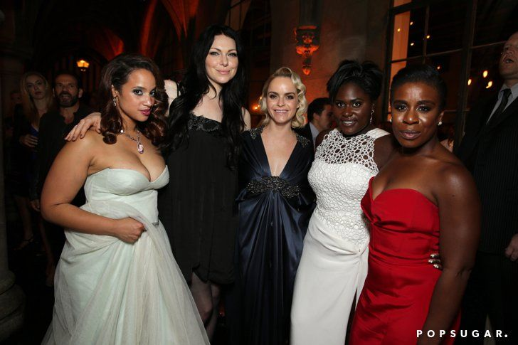 Pin for Later: Relive the Best Moments From the 2014 Emmys  Dascha Polanco, Laura Prepon, Taryn Manning, Danielle Brooks, and Uzo Aduba got together for a group snap.