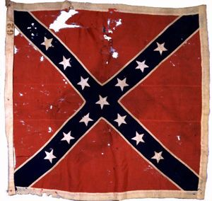 The Epic Battle Between the 24th Michigan and 26th North Carolina at Gettysburg.  This flag was lost July 3rd 1863 very close to the stone wall on Cemetery Ridge.