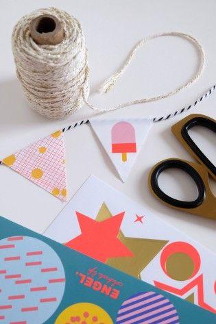 DIY sticky garlands boekje