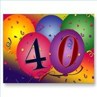 happy 40 birthday quotes - Google Search