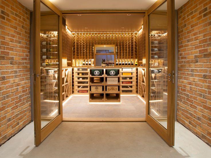 Best 25 wine cellar design ideas on pinterest wine cellar products wine cellars and modern - Home wine cellar design ideas cool ones ...