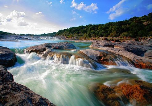 Pedernales Falls State Park, TX Beautiful. Great place for mountain biking