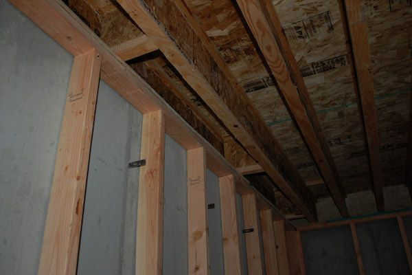 Basement Framing - How to Frame Your Unfinished Basement
