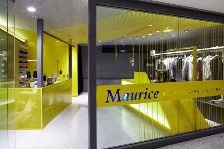 Maurice Dry Cleaners by Snell Architects, Sydney