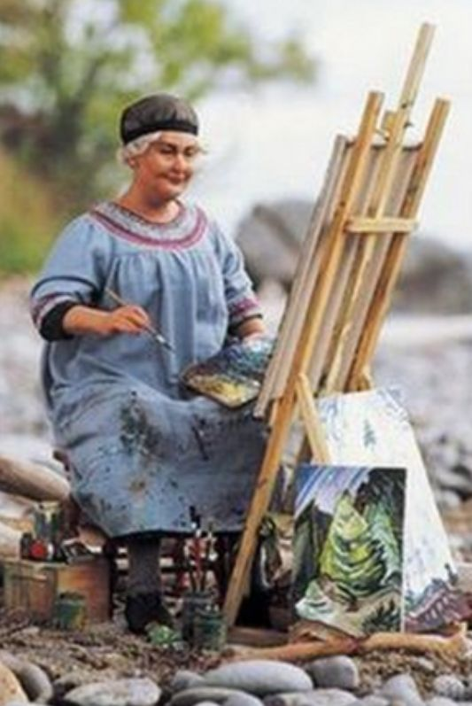 "ⓦ Women's Wisdom & Wit ⓦ funny & inspirational quotes from women aging gracefully | Emily Carr: ""You will have to experiment and try things out for yourself and you will not be sure of what you are doing. That's all right, you are feeling your way into the thing."""