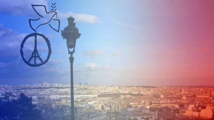 Fonds d'écran Hommes - Evênements > Fonds d'écran Actualité Pray for Paris par jeromeandre - Hebus.com