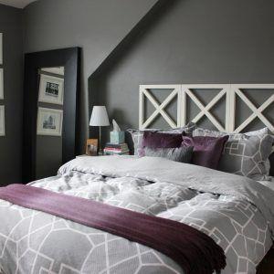 Purple Grey Bedroom Decorating Ideas