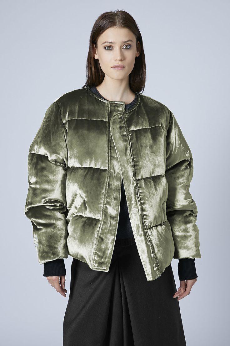 Photo 3 of **Velvet Puffa Coat by Unique