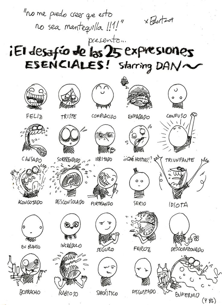 68 best images about Personajes Expreciones on Pinterest