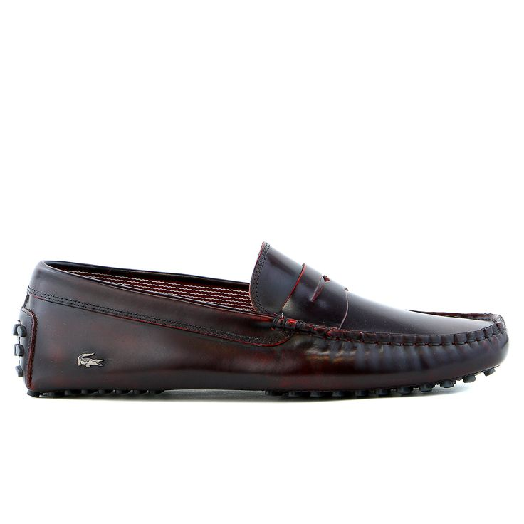 Lacoste Concours 15 SRM Driver Moccasin Loafer Fashion