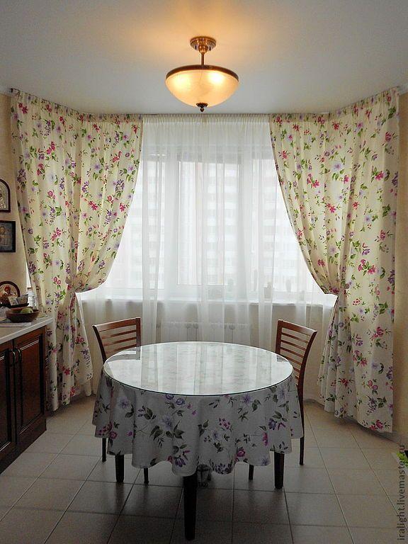 Купить Шторы в стиле Прованс / 3 - шторы для кухни, шторы, шторы на кухню