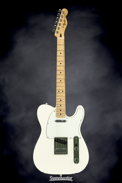 Fender Standard Telecaster - Arctic White | Sweetwater.com