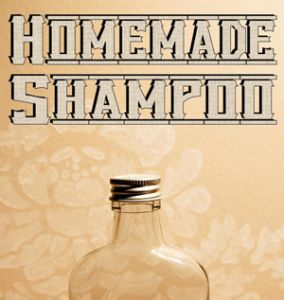 DIY ('no poo') pH balanced natural shampoo recipes