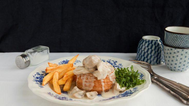Vol au vent met frietjes | VTM Koken
