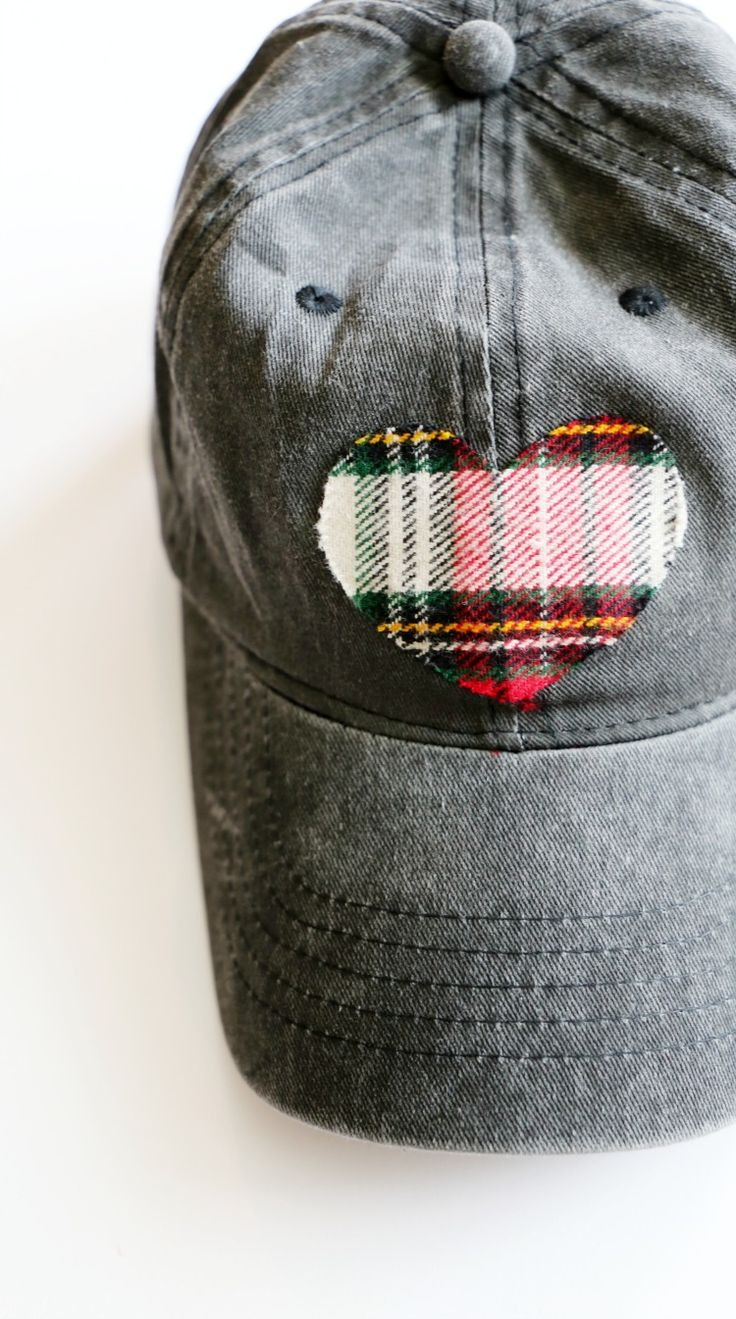 I had some flannel left over from another project and when I saw all of these $2 baseball caps from Walmart in all these great colors, I had an idea!  I love baseball caps because honestly I rarely do my hair during the week and a baseball cap makes you look cute at the school pick up line without any effort. Here's the how-to for this simple no-sew flannel heart baseball cap! Supplies: Blank …