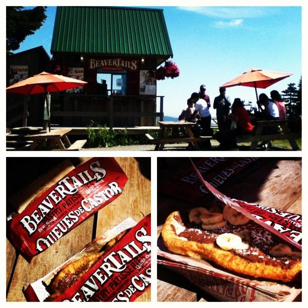 Sun and sweets at BeaverTails Grouse Mt.  Photo by milsyvalencia