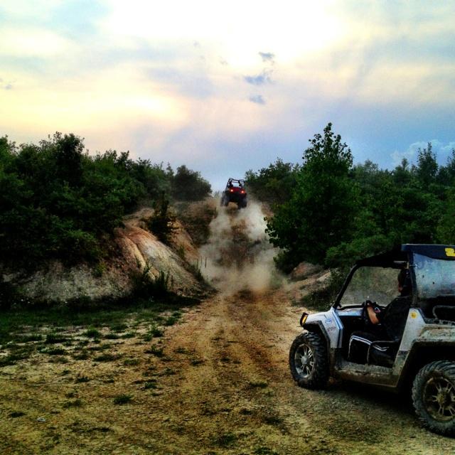 Polaris Razr with Mud Hog ATV Club -- I want a Razr S soooo bad!